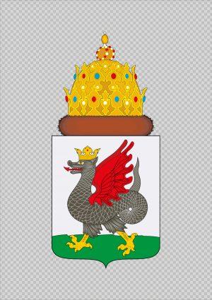 герб Казани вектор змей Зилант дракон скачать png корел иллюстратор eps ai pdf бесплатно