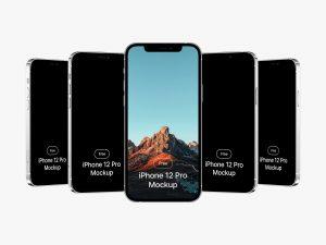 iPhone 12 Pro мокап mockup макап бесплатно айфон макет телефона смартфона