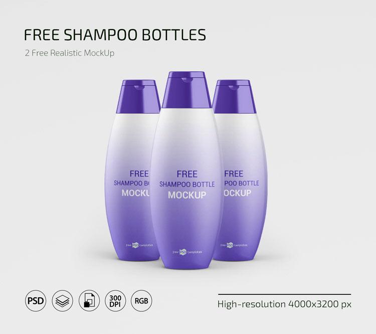 Мокап, mockup, шампунm, гель для душа, баночки для косметики упаковка, кондиционер, макап, бесплатно psd скачать