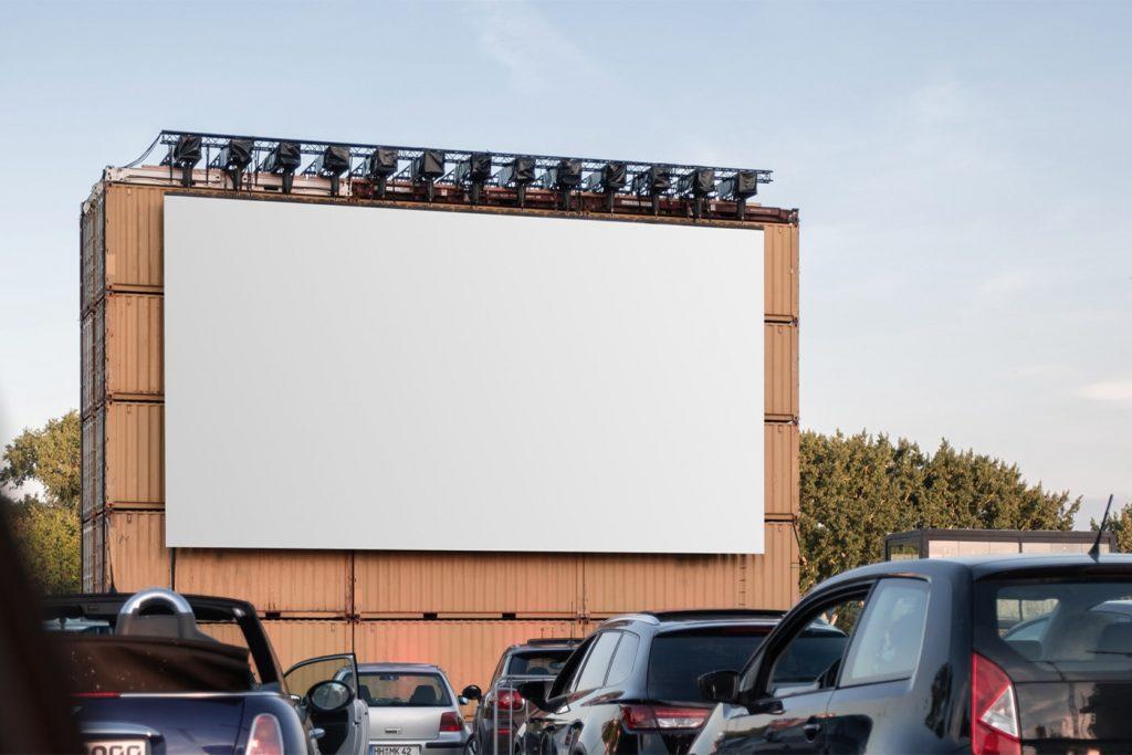 биллборд мокап рекламный бесплатно онлайн billboard free