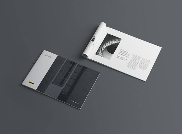 мокап буклета в альбомном и портретном виде mockup booklet brochure free photoshop