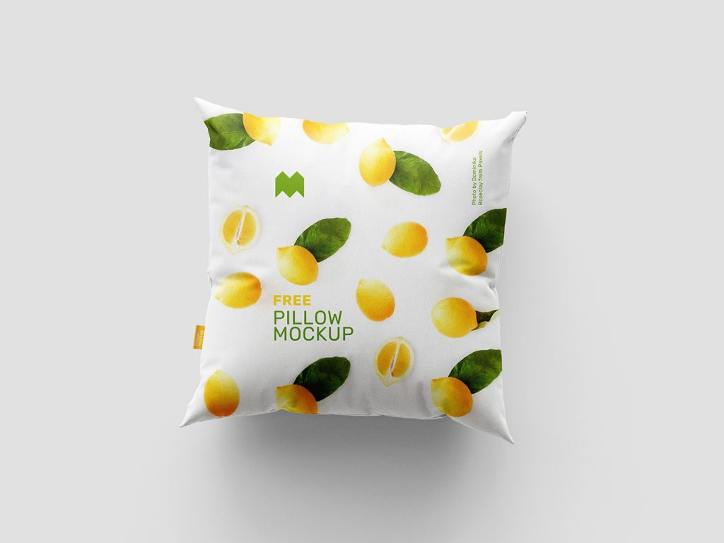 мокап подушки квадратной макет белья постельного скачать mockup бесплатно free